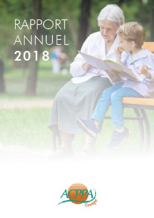 Rapport d'activité 2018