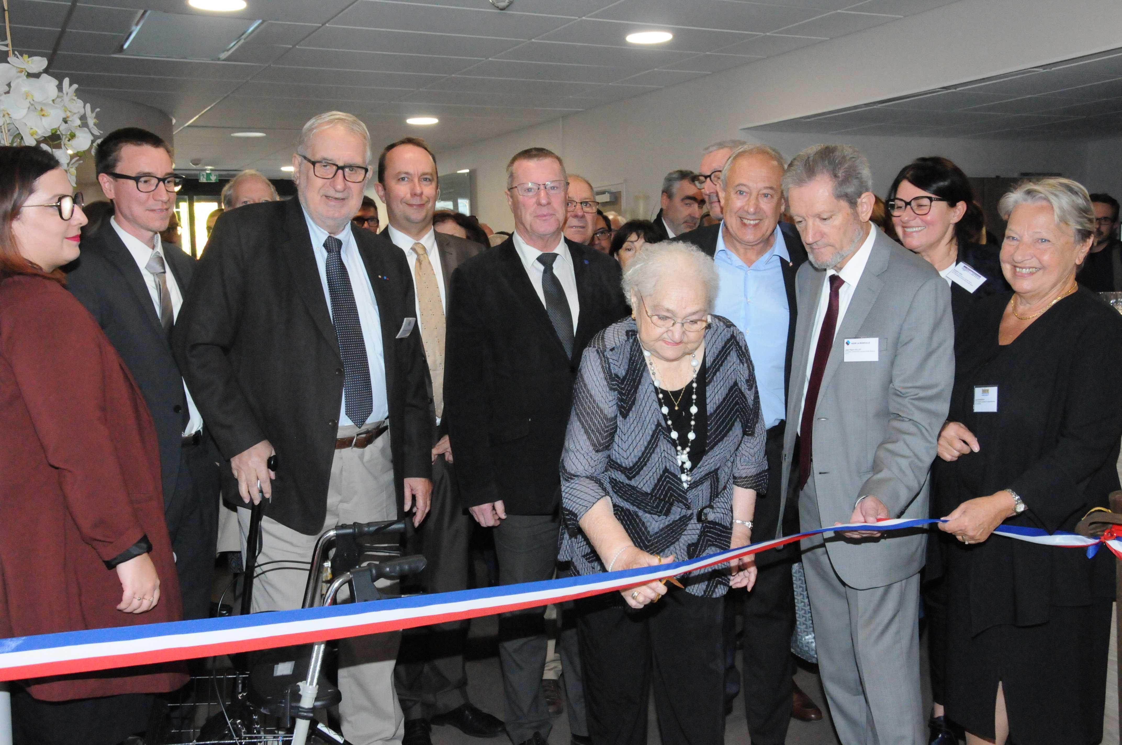 "Inauguration EHPAD L""Eglantine - Fontaine (38)"