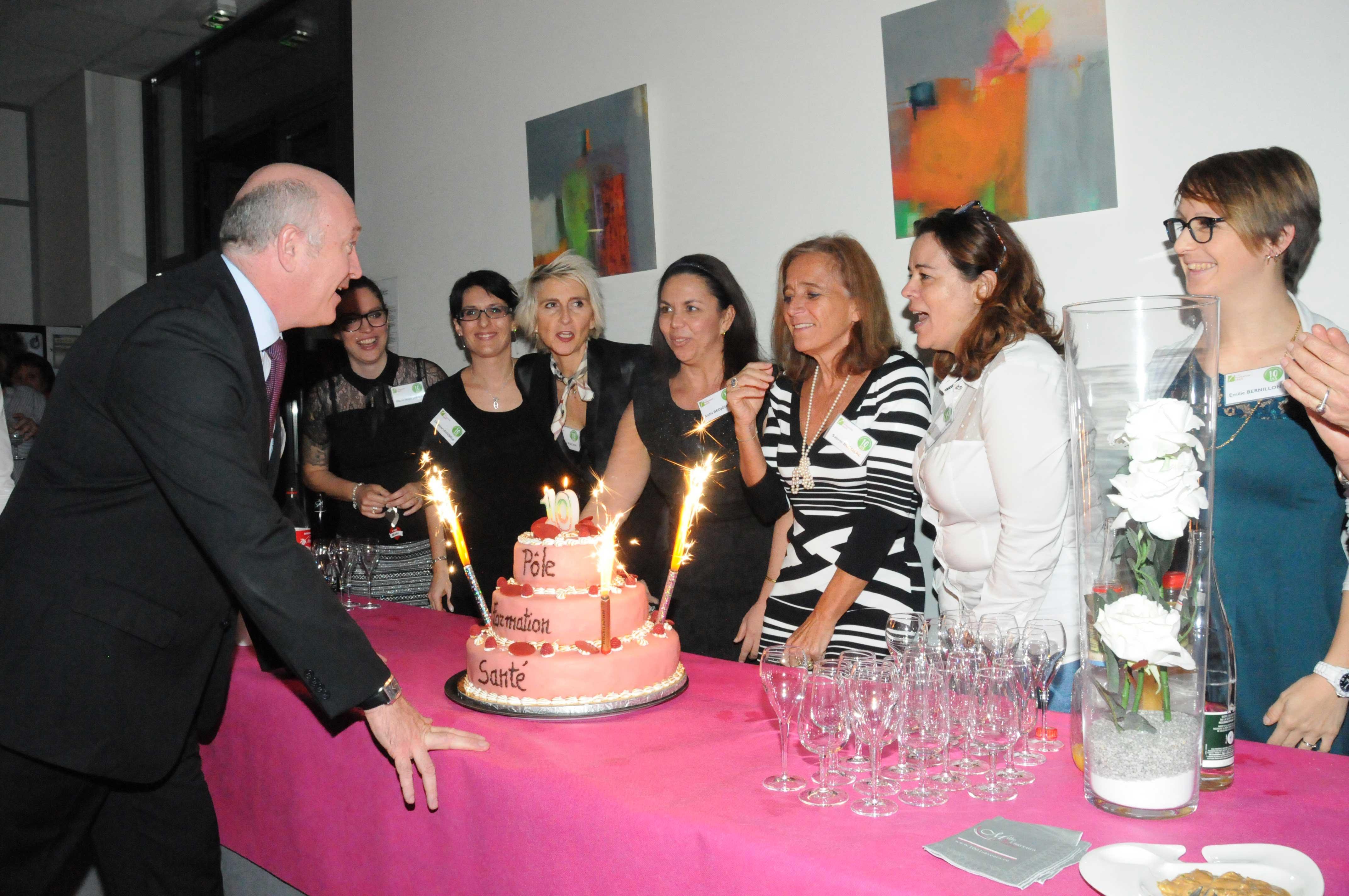 10 ans Pôle Formation Santé - Groupe ACPPA
